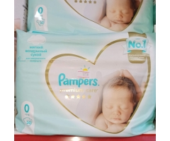 Pampers 0 өлшем  30 дана